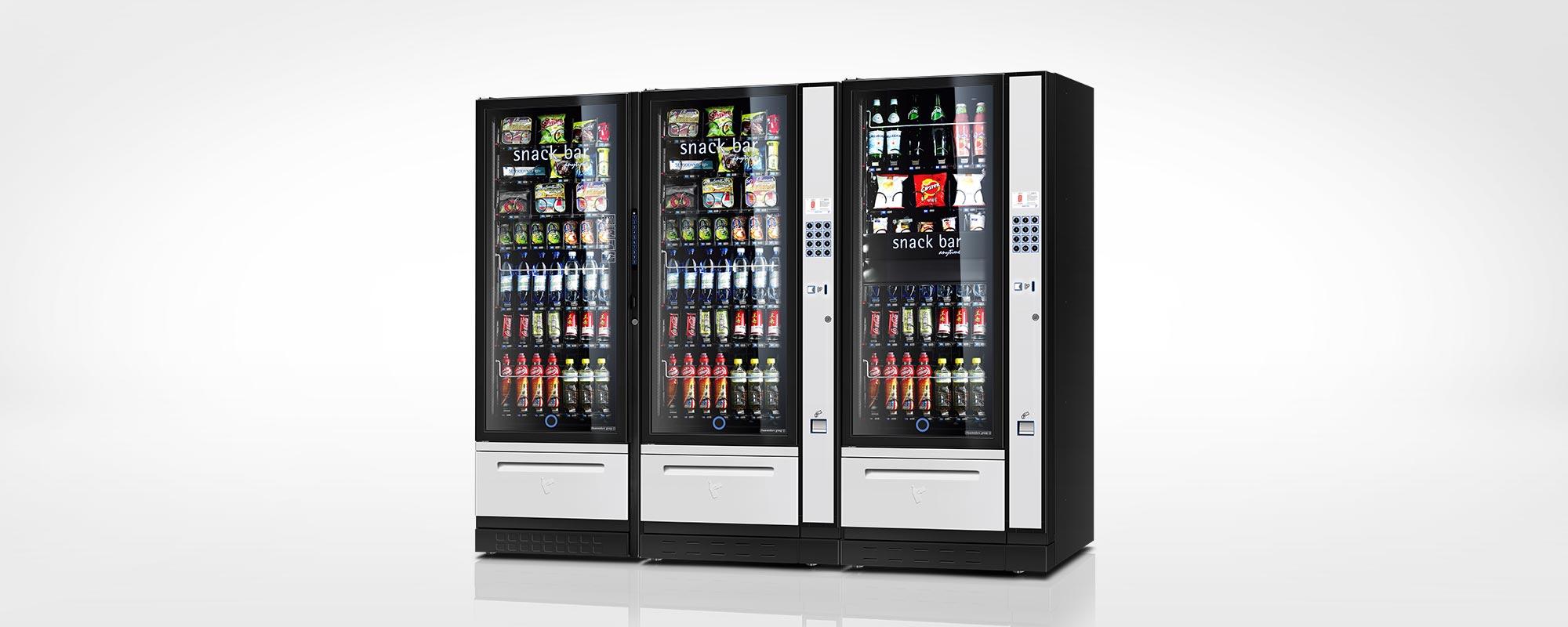 vending freestanding snack&food - luce zero